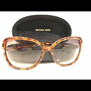 Michael Kors Beverly Tortoise Shell Sunglasses